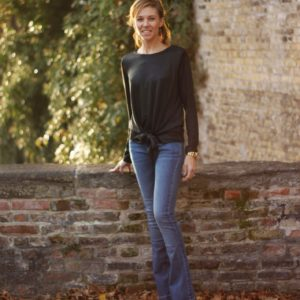 Flared Jeans1