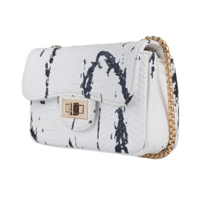 Tas Chain Splash White 2